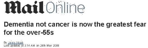 Shocking headline UK, 2008