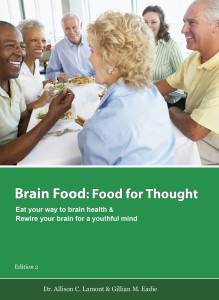 Green Brain Food Cover  for ebook